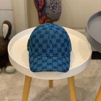 Moda Tasarımcısı Beyzbol Kapaklar Erkek Kadın Hip Hop Lüks Tasarımcılar Cap Casual Cappelli Firmati Yüksek Kalite Sunhat Şapkalar