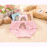Panties Arrived 2021 Girls Underwear Fashion Kids Cotton Character Children Briefs 4pcs lot 2-10year
