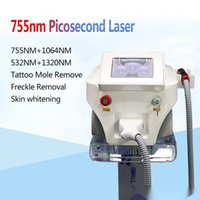 Pico Lazer Picosecond Lazer Makinesi ND YAG Lazer Dövme Temizleme Pigmentasyon Nokta Mole Sökücü Dövme Gümrükleme Güzellik Ekipmanları