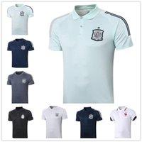 스페인 폴로 20 20 아르헨티나 축구 팀 폴로 셔츠 20 21 고품질 축구 유니폼 훈련 조깅