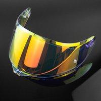 Casco Visor Motorycle Face Face Lens con bloqueo PIN para AVG K1 SV K5 Capacete Shield Cascos