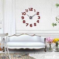 Часы горячего дизайна часы настенные часы Horloge 3D DIY акриловые зеркало наклейки дома украшения гостиной 1350 v2