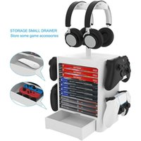 Multifunctional storage bracket game CD disc box rack for PS5  PS4 N-switch Xbox