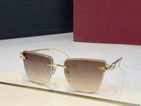 Luxury design sunglasses 0130 Fashion Men Wrap Sunglass Square Frame UV Protection Lens Carbon Fiber Legs Summer Style Top Quality Case