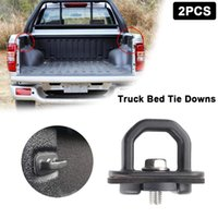 Car Sunshade 2PC Tail Box Anchor Buckle Pickup Truck Bed Tie Downs Trunk Lock Rope Fixing Modification Accessories