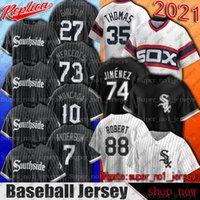 Southside White Sox 10 Yoan Moncada Jersey Chicago 35 Frank Thomas 88 Luis Robert 79 Jose Abreu Jerseys Tim Anderson Liam Hendriks Jersey SD