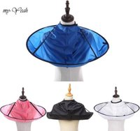 Salon Coloring Products Wrap 4 Colors Diy Umbrella Cape Cutting Cloak Shave Apron Hair Barber Gown Cover Household Sgmxp Jfnr6