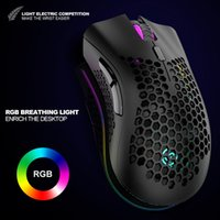 2.4g Hollow Mice gaming mouse wireless rgb With Usb Nano Receiver For Laptop Pc BM660