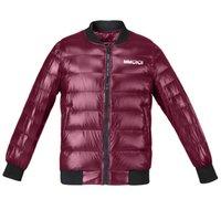 Kissquqi Женский фугу вниз с короткими куртками Легкая зимняя мода повседневная верхняя одежда путешествие на открытом воздухе пешеходное пальто