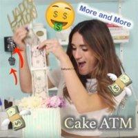 Scatola di denaro torta divertente che tira il rendimento della torta di muffa scatola dei soldi dei soldi che tira la torta che fa la muffa del cibo del cibo sicuro 280 ca19