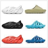 2021 terlik ayakkabı çöl kum kauçuk terlik yaz slaytlar grafiti kemik reçine kahverengi düz erkekler ve kadınlar plaj köpük koşucu boyutu 36-45