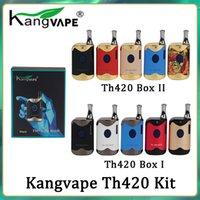100 % 원래 Kangvape TH420 II 두꺼운 오일 카트리지 분무기를위한 650 mAh 배터리 TH-420 2 vape 상자 모드