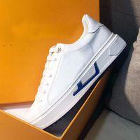 Yeni Lady Düz Rahat Ayakkabılar Kadın Seyahat Deri Dantel-Up Sneaker Harfler Kadın Ayakkabı 100% Inek Derisi Moda Platformu Erkekler Spor Ayakkabı Büyük Boy 35-45