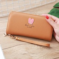 Wallets Womens And Purses Animal Ear PU Leather Long Wallet Hasp Phone Bag Money Coin Pocket Card Holder Female Purse