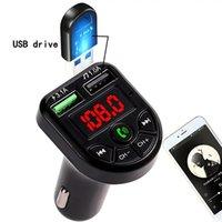 VR robot FM Transmitter Bluetooth Car MP3 Audio Player Handsfree Car Kit 5V 3.1A Dual USB Charger 12-24V TF U Disk Music Player