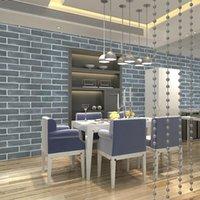 Wallpapers Self Adhesive Wallpaper Wall Tile Bedroom Living Room Facade Decoration Barber Shop