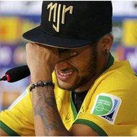 Brasil Neymar Cap hombre sombrero gorra gorra bordado njr mujeres sombrero de verano tapa de béisbol de verano para el hip-hop europeo y americano