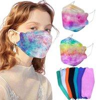 KF94 أقنعة الغبار وتنفس كل مستديرة حماية الوجه قناع الوجه على شكل FFP2 KN95 غطاء الفم