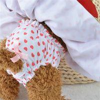 Braçadeira Coração Forma Dog Vestidos Moda Cães Princesa Vestido 6071080 Pet Roupas Suprimentos (Vestido + Hat + Calcinhas Leash = 1 Set 558 R2