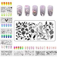 Nail Art Templates Splice Image Plate Design Stampaggio Kit Template Manicure Template Stampa Edition Mosaico
