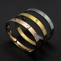 Роскошный браслет женщины из нержавеющей стали отвертка пара золотые браслеты мужчины мода ювелирные изделия день Святого Валентина подарок для подруги аксессуары оптом