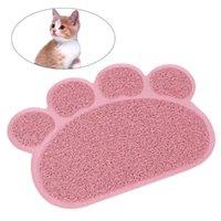 Cat Beds & Furniture Litter Mat Non-slip Pet Shape Dog Puppy Kitten Dish Bowl Food Water Placemat 30*40cm )