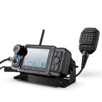 Interrico 4G Zello Network Radio Android Wireless Bluetooth Interphone avec écran tactile Pwifi GPS SOS Mobile Walkie Talkie