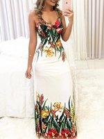 Women 2021 Sexy V-neck Sleeveless Loose Dress Summer WomenDresses Vestidos Casual Dresses
