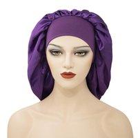 Scarves Reversible Satin Bonnet Hair Caps Double Layer Adjust Sleep Night Cap Head Cover Hat Women Turban Headwear Sleeping Beanies