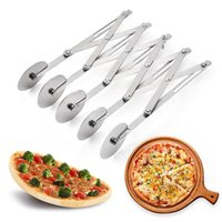 Stainless Steel 5 3 Wheels Cutter Dough Divider Side Pasta K...