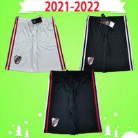 Flussplatte 21 22 Fußball Shorts Erwachsene Herren 2021 2022 Zuhause White Football Hosen Borre Fernandez de la Cruz Pratto Suarez Jerseys