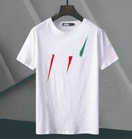 아시아 sizehigh 품질 브랜드 남성용 티셔츠 탑 인쇄 편지 디자이너 셔츠 럭셔리 짧은 소매 패션 의류
