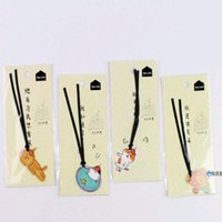 Bookmark 1PC Cute Cat Kitten Bookmarks With Ribbon Marker Of Page Stationery School Office Supply Kids Gift