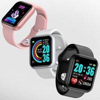 Fitness Watch Bluetooth Sport Smart Watch Boold Pressure frequenza cardiaca Tracker Sleep Message Ricorda D20 SmartWatch