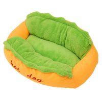 Fine Joy Dog Bed Pet Winter Beds Fashion Sofa Cushion Supplies Warm House Sleeping Bag Cozy Puppy Nest Kennel Kennels & Pens