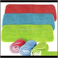 Paños Herramientas para el hogar Organización de limpieza Organización para el hogar Entrega de gota de jardín 2021 Pista de pulverización Cabezas Microfibra Recarga Húmeda Limpieza en seco Washabl