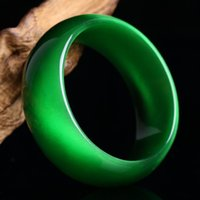 Bangle Genuine Bright Green Natural Cat Eye Stone Crystal Bangles Women Lucky Gift Help Marriage Bracelet Jewelry Accessories