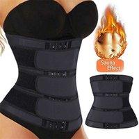 Treinador de cintura cinto de emagrecimento shaper corpo shaper cinto para mulheres Controle de barriga Modelando cinta cintura cintura cinza cinto lj201210