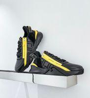 الرجال الفاخرة تدفق الكمال أحذية رياضية أحذية الراحة عارضة الرجال الرياضة سستة المطاط شبكة خفيفة الوزن سكيت عداء وحيد التقنية الأقمشة المدرب مربع