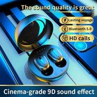 Wireless Headphones TWS True Bluetooth V5.0 Earphones In-Ear Earbuds Waterproof Mini Headsets HiFI Stereo Sports Eearphone
