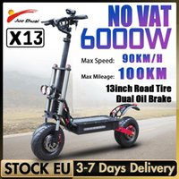 """Other Scooters 5600W Electric Scooter 60V 90KM H Max Speed Folding E With Seat 100KM Mileage 13"""" Big Wheel Adults"""