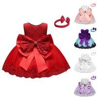 Girls' Tulle Flower Princess Wedding Dress For Toddler Girls Princedress Kids Clothes Baby Children Clothing Vestido Girl's Dresses