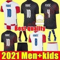 2021 كأس الاتحاد الأوروبي المنتخب الوطني ماندزوكيك لكرة القدم الفانيلة MODRIC PERISIC KALINIC SHRITE 20 21 Rakitic Kovacic Men Kids Kit