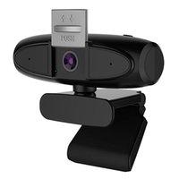 Webcams 2K HD câmera de computador USB microfone webcam 2x zoom zoom transmissão ao vivo câmera, para desktop sem unidade