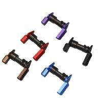 Tactical .223 5.56 Selettore di sicurezza ambidestro Sistema di sicurezza MIL-SPEC Acciaio per accessori AR15