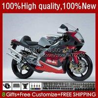 Kit de feiras para Aprilia RSV250RR RS-250 RSV250 RS RSV 250 RSV-250 95-97 24no.24 RS250RR RS250 RR 1995 1996 1997 RSV250R RS250R Gloss Preto 95 96 97 Bodys Motociclos