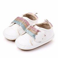 أخبار الطفل بنات الفتيان أحذية مريحة rainbow الغيوم الأزياء عدم الانزلاق أول مشوا الأطفال أحذية أطفال