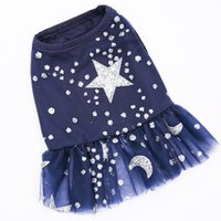 Dog Apparel Summer Pet Clothes Dress Cat Yorkie Yorkshire Terrier Pomeranian Chihuahua Clothing Puppy Princess Skirt