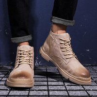 Boots Footwear Hightop Loafers Outdoor Man Leather Sneaker Hombre Shoe Mens Altas Causal Men For Top Sale Sneakers Sport With A