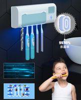 Top Vendeur UL-Traviolet UV Disinfecteur de stérilisation à la brosse à dents Convient à tous les types de brosses à dents Stérilisateur 19.5 * 4 * 7.5cm En stock